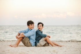 Cancun Photography Family portraits at the beach Photographer